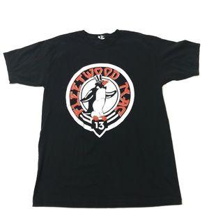 Fleetwood Mac 2013 Tour Tee Penguin Logo Black Men